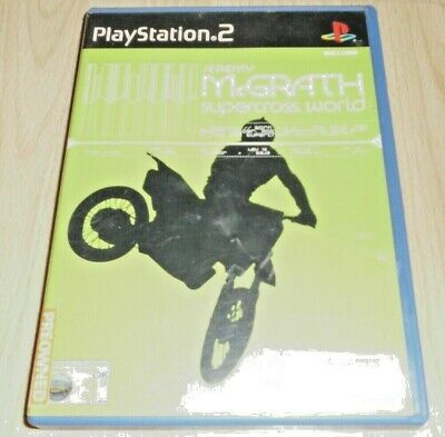 Jeremy McGraph Supercross World ...Playstation 2 Game, used for sale  Shipping to Nigeria