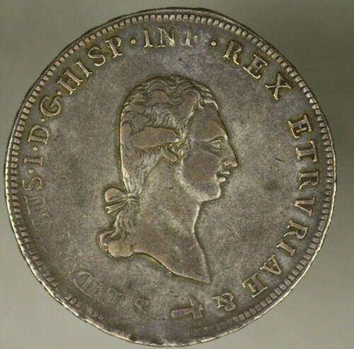 Tuscany  Silver Crown Francescone 1803  VF+   A1417