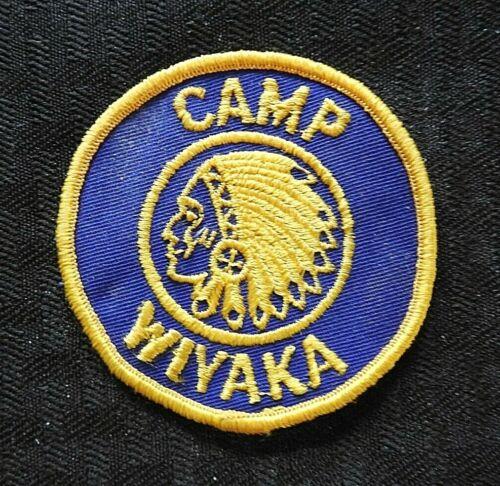 "c1970 ""YMCA CAMP WIYAKA"" RICHMOND NH NEW HAMPSHIRE JACKET PATCH CHESHIRE COUNTY"