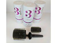 3 Styler Hair Brush New Boxed
