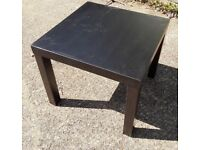 IKEA LACK Small 55cm square side table lightweight coffee table 14729