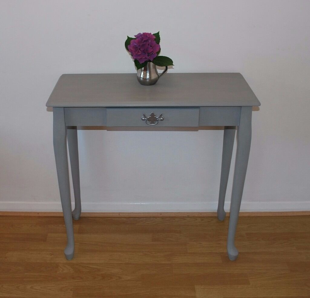 Hall Table Petite Desk Side Table Shabby Chic  : 86 from www.gumtree.com size 1024 x 984 jpeg 60kB