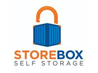 Clean, secure & low cost self storage 24/7 access. 40 sq ft just £24 a week - Hornsey, London