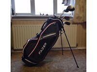 Dunlop Golf Clubs and Fazer Stand Bag Set