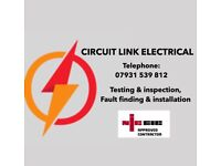 All Electrical work(07931539812), Testing and inspection,Maintenance.