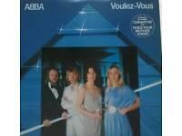 ABBA LP VINYL RECORD voulez vous