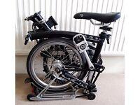 "Brompton H6R Bike ""full options"""