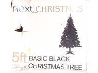Five Foot Black Next Christmas Tree