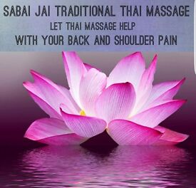 Sabai jai traditional Thai massage open 7 days 10am to 8pm