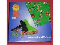 'Eezee Kricket International' Board Game (new)