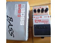 Boss SYB-3 Bass Synthesizer Guitar Pedal