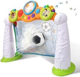 Wholesale 2 Year Olds Baby Toy Football Goal Game with Music light (4 Units, £19.37/Unit)