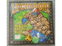 Luchador Mexican dice wrestling game