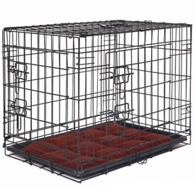 Dog Cage with Mat - Size Medium - BRAND NEW