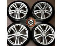 "18"" Genuine Audi alloys, VW, Seat, Skoda, matching premium tyres."