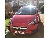 Vauxhall Corsa 1.4 eco flex 16 plate 17000 miles