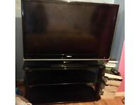"£200 o.n.o - 45"" Toshiba flat screen TV freeview ready and HDMI slots. Includes stand. No remote"