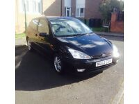 2003 ford focus Zetec 3 door panther black £450