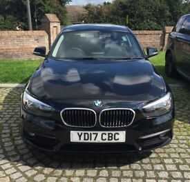 2017 BMW 118i SE 3door sports hatch, ONLY 7600 miles, IMMACULATE CONDITION!