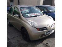 Nissan Micra SE 2004 1.4 (auto) also have a Clio 2002 and Citreon C4