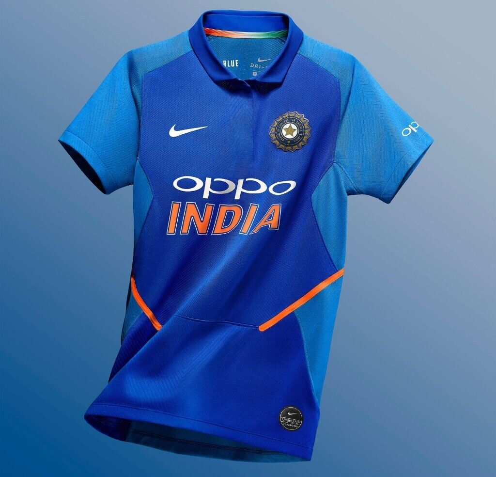 ab6c54047 Brand New Original Genuine NIKE Dri-Fit Jersey Latest INDIA Cricket T-Shirt,  World Cup 2019 ODI UK