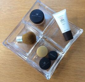 NEW Make Up Trays, Set of 5 Glass Trays Especially for use with Bare Minerals Products