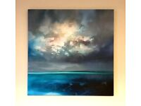 """Isle of Skye emerges"" canvas print by Scott Naismith"