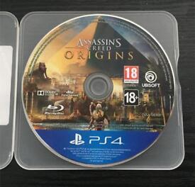 Assassins Creed Origins PS4 NO BOX