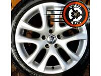 "17"" Genuine VW Scirrocco alloys good cond excel Pirellis."