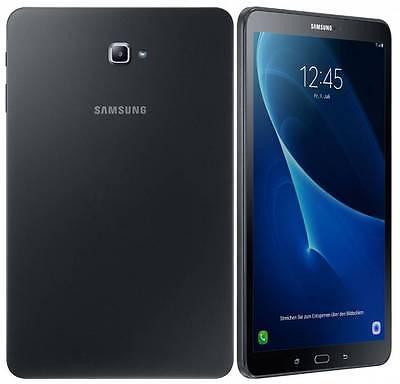 Samsung Galaxy Tab A 10.1 SM-T585 BLACK 2016 (FACTORY UNLOCKED) Wi-Fi + 4G 16GB