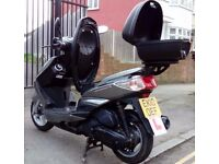1 YR MOT - YAMAHA CYGNUS 125CC GOOD CONDITION