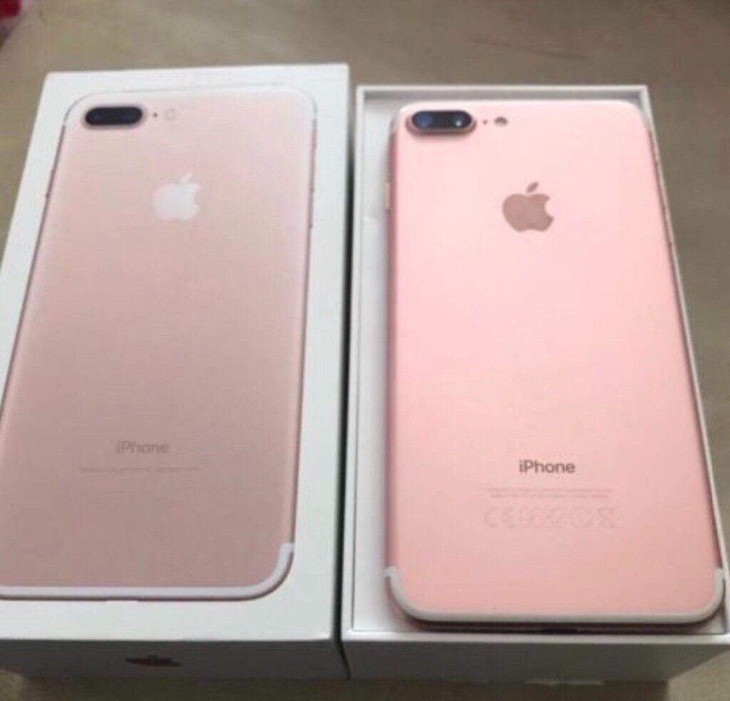 Apple iPhone 7 Plus In rose gold