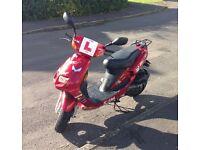 SYM JET BasiX 50cc Moped Scooter 12 mounth MOT