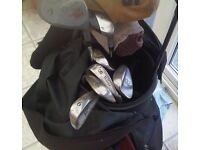 Golf Clubs for Sale with Carry Bag.