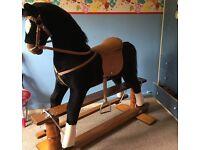 Beautiful large rocking horse