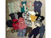Baby boy clothes bundle size 12-18 months