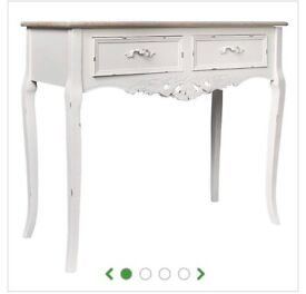 Camille dunelm vintage shabby chic dressing table