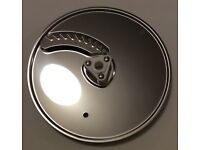 Kenwood AT640 Food Processor Titanium - Fine Chipper Plate (Julienne Style) Only - NEW