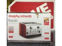 Morphy Richards Equip 4 slice toaster