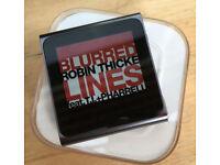 Apple iPod Nano Multitouch Clip 6rd Gen 8gb - Grafite Good Condition