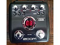 Zoom G2 Guitar Multi Effects Pedal