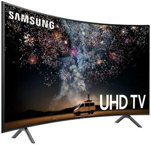 SAMSUNG 65 LED 4K HDR CURVED SMART UHDTV *NEW IN BOX*