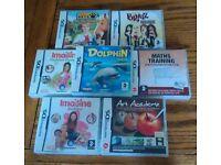 Bundle of 7 Nintendo DS games. Exc. Condition