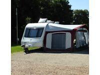 Caravan - Elddis Avante 554, 2011 fixed bunk model