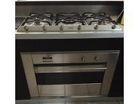 Smart Smeg Gas Cooker & Hood