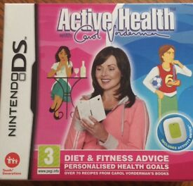 Active health for Nintendo DS