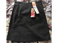 Girls uniform grey straight skirt M&S BNWT 11 years