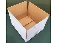 Quantity of Cardboard Boxes 39cm x 12 x 34