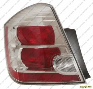 Tail Light 2.0L Driver Side High Quality Nissan SENTRA 2010-2012