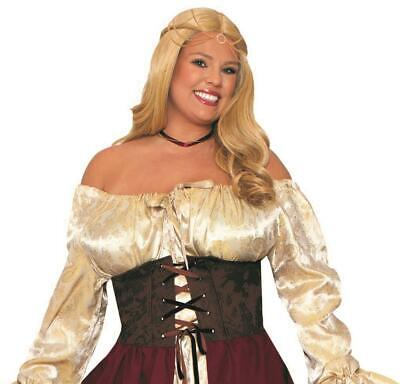 Medieval Pirate Wench Adult Plus Size (Pirate Wench Kostüm Plus)